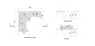 Technische tekening / Werktafel