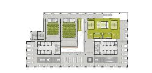 Plattegond / 2e verdieping / Collegezalen / Grab & Study /. Bibliotheek