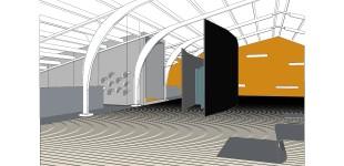 Entree / Tunnel / Toilet ruimte