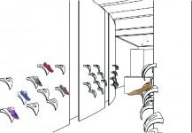 etalage en presentatie schoenen
